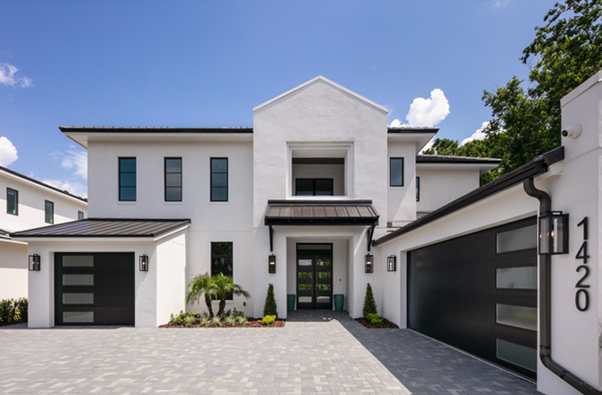 GOLF FRONT CUSTOM HOME IN WINTER PARK